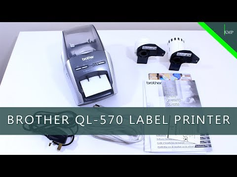 Brother QL570 Label Printer - Uboxing & Overview | Budget Tech #5