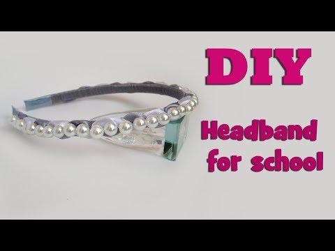 DIY headband for school