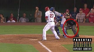 MLB UMPIRES GETTING WRECKED  ᴴᴰ