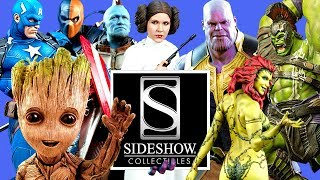 Sideshow Collectibles FULL Comic Con 2018 Tour! (SDCC 2018)