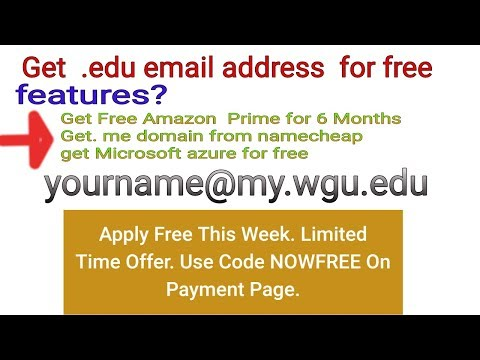 How to get free.edu email address new latest Working  Method 2017-18 Part -1