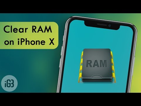 How To Clear iPhone X RAM Memory on iOS 11