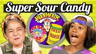 KIDS vs. FOOD - SOUR CANDY CHALLENGE