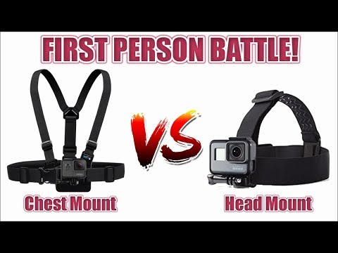 What Is The Best First Person POV For Your GoPro: Head Mount vs Chest Mount!