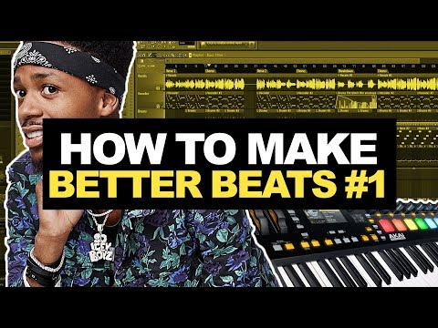 HOW TO MAKE BETTER BEATS #01 - Percussion Study | FL Studio 12 Tutorial