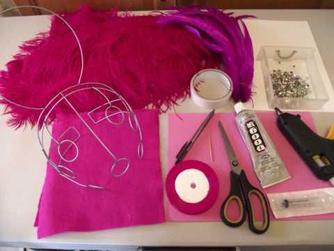 how to make your samba headdress part 1