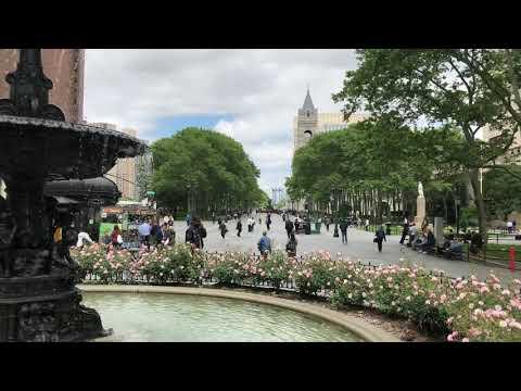 fountain, Downtown Brooklyn, New York (6-4-18)