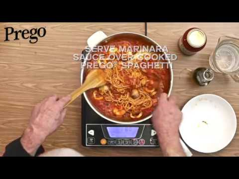 Prego Spaghetti Marinara - 60secs Video Tutorial