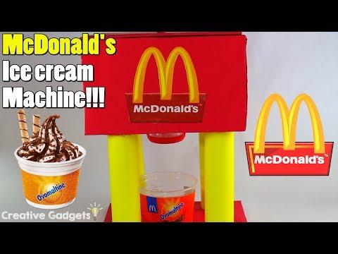 How to make Mcdnald's Ice Cream Machine