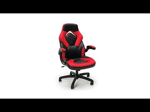 Essentials by OFM ESS-3085-GRY-OFM Essentials Racing Style Leather Gaming Chair Full Review