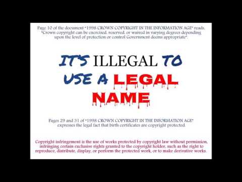 Arizona vital records folk know that birth certificates are fraud (audio 2 of 2)