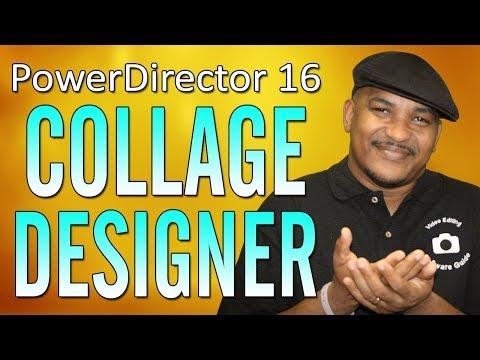 CyberLink PowerDirector 16 | Video Collage Designer Tutorial