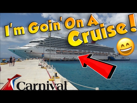 I'M GOING ON A CRUISE!