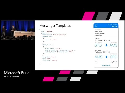 Adaptive Cards in Bots, Windows, Outlook and your own applications : Build 2018