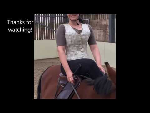 How to put on our equestrian corseted waistcoats