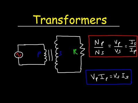 Transformers Physics Problems - Voltage, Current & Power Calculations - Electromagnetic Induction