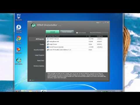 Uninstall ANY Program With IObit Uninstaller - [Tutorial]