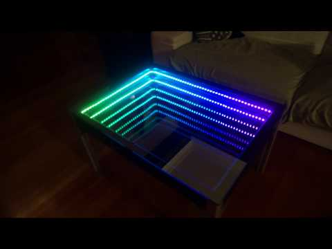 DIY Infinity Table (w/ rainbow, snake, and election prediction modes)
