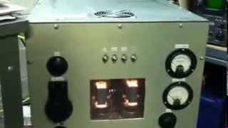 Homebrew 2 x 813 1KW Tube Amplifier Pt 1