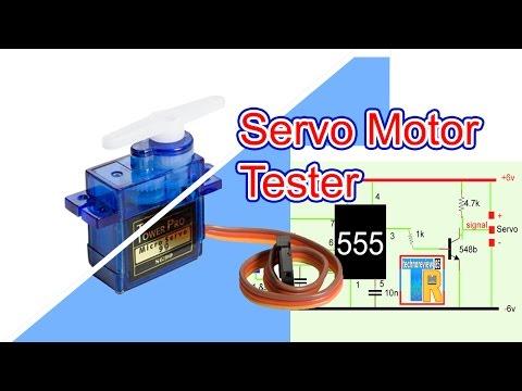 servo motor tester | How to make