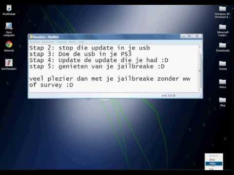 PS3 Jailbreak 4.60 *NEW* Geen pass of survey  HD
