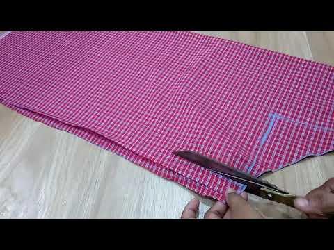 Kitchen Apron Cutting And Stitching
