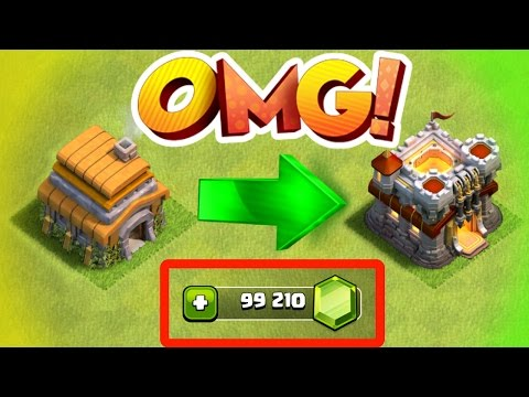 Clash Of Clans - RECORD BREAKING GEM SPREE IN CLASH OF CLANS!