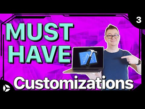 Customizations in Xcode 9 [MUST HAVE]