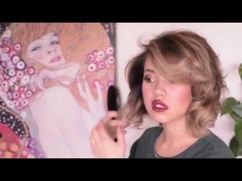 Hair Tutorial: Old Hollywood Curls