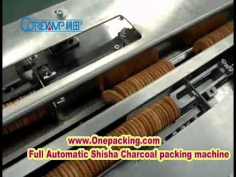 Full Automatic Shisha charcoal packing machine