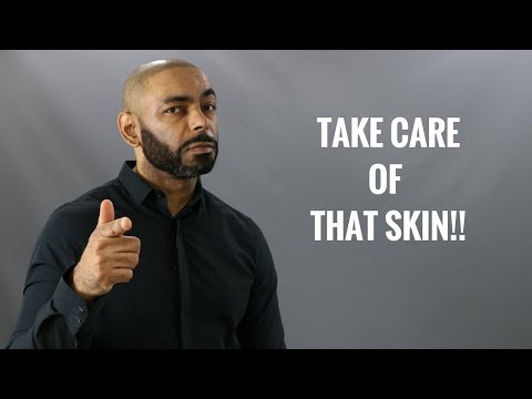 How And Why Men Should Take Care Of Their Skin/My Skin Care Routine (Featuring Tiege Hanley)
