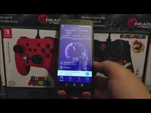 Metro by T-Mobile Alcatel 1X Evolve 4G LTE SpeedTest