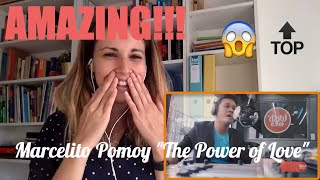 """Marcelito Pomoy singing """"The Power of Love"""" Video Reaction"""