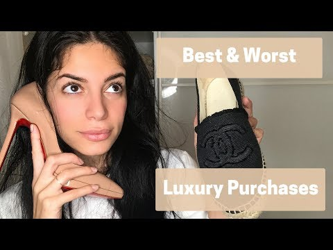 Best and Worst Luxury Purchases! Chanel, Louis Vuitton, Christian Louboutin