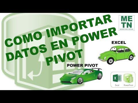 Como importar datos en Power Pivot | Capítulo 2 | Curso de Power Pivot en Excel