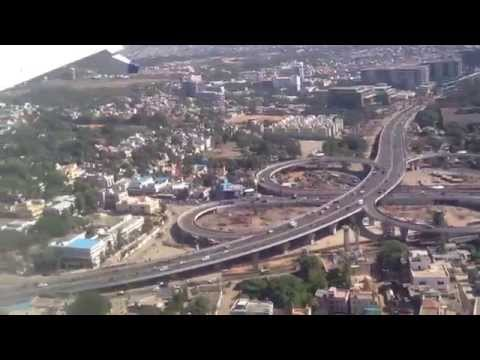 Flight Landing to Chennai Airport