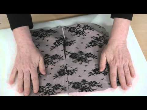 How to Sew Lace Seams