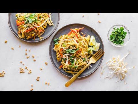 Vegan Pad Thai in only 30 MINUTES! 🙌🏼