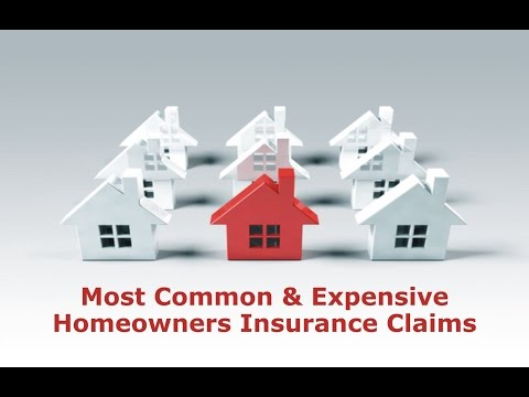 Most Common & Expensive Homeowners Insurance Claims