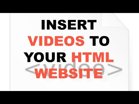 How to add a video in HTML [How to]