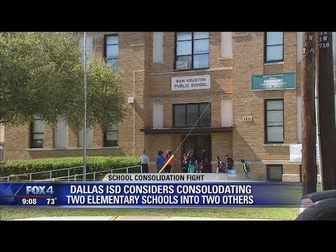 School Consolidation Fight