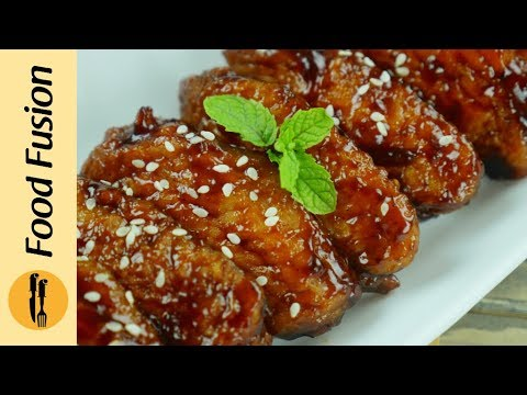 Honey BBQ Chicken Wings Recipe By Food Fusion