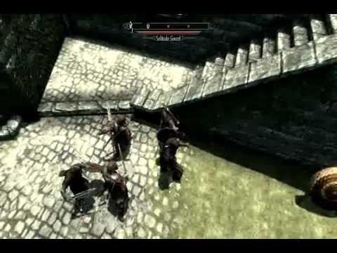 Xbox 360 Skyrim Mod Dawnguard Hearthfire Play as Unarmed Damage Set to 800
