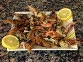 Cocina Fácil - Langostinos A La Plancha - Grilled Prawns With Garlic And Parsley