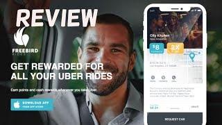 Get Cash Back On Lyft and Uber Rides! Freebird Rides App