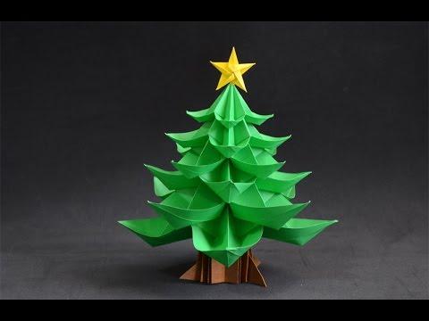 Origami: Christmas Tree