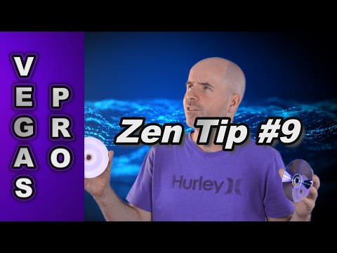 Zen Tip #9: Reasons Why You Should Burn HD Video to Blu-ray disc in Sony Vegas