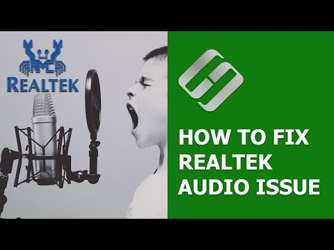 How to Fix Realtek Audio Issue If Sound Disappears After Updating Windows 10 🎤🛠️💻