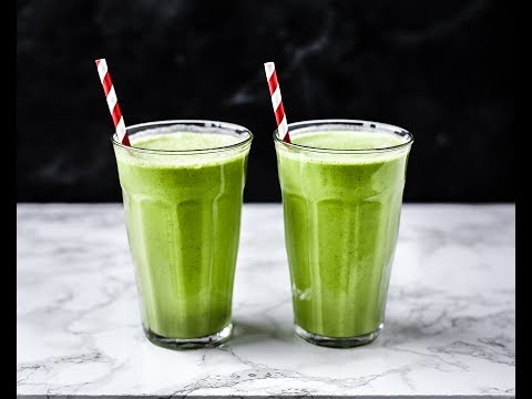 Ronny's High-Fat Green Booster Smoothie
