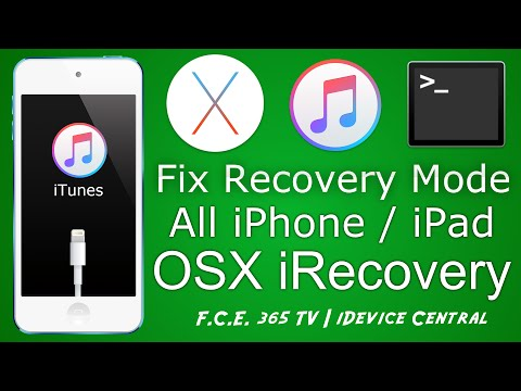 How to kick iPhone / iPad out of Hard Recovery Mode on OSX (MAC) with iRecovery